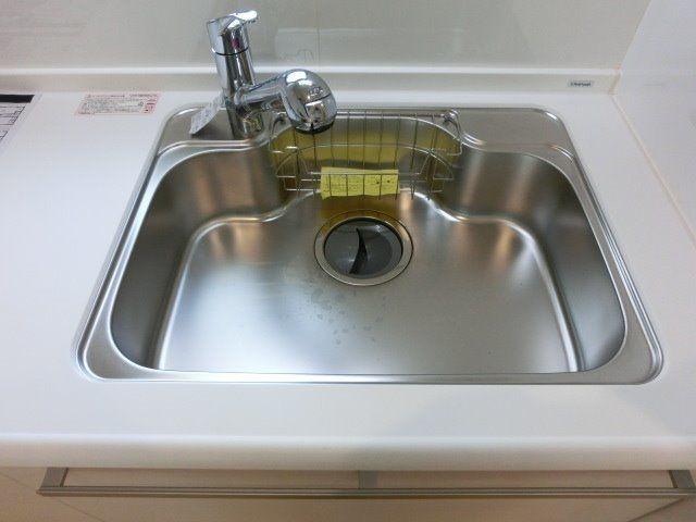 浄水機能付き水栓のシンク
