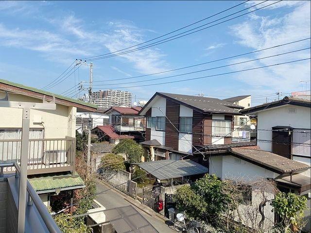 西東京市向台町6丁目新築戸建バルコニーからの眺望(2020.2.3)スプラッシュ