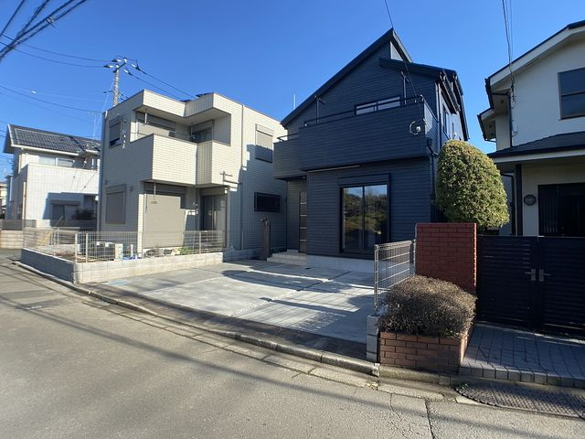 西東京市下保谷5丁目の新築住宅の外観