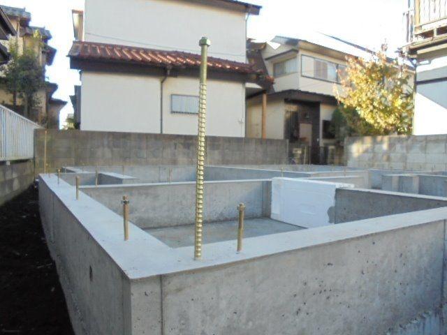 西東京市富士町3丁目新築戸建て・基礎工事3