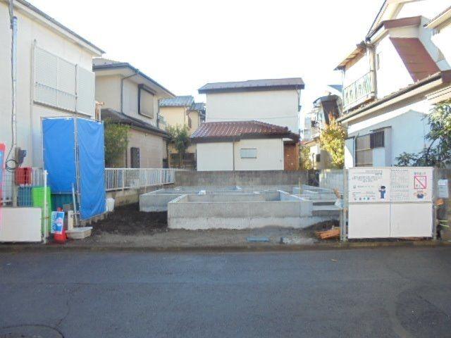 西東京市富士町3丁目新築戸建て・基礎工事