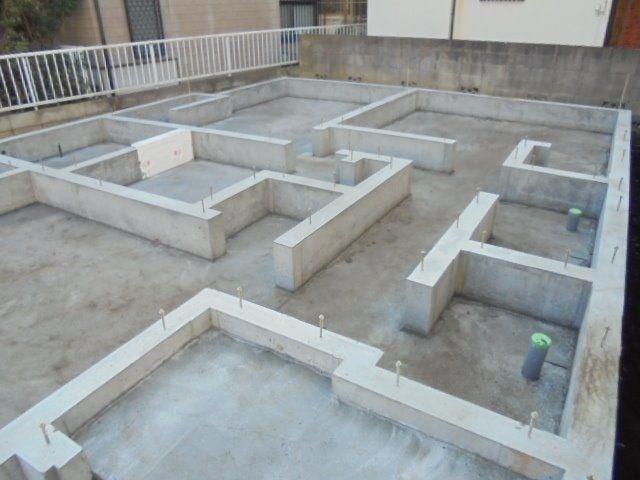 西東京市富士町3丁目新築戸建て・基礎工事5
