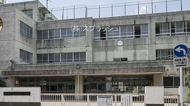 西東京市立田無小学校の外観 スプラッシュ