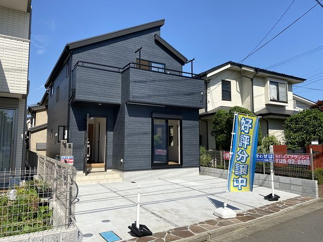 西東京市下保谷5丁目の新築住宅の外観(2020.5.17)