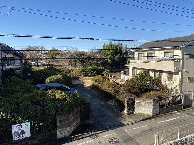 西東京市下保谷5丁目の新築住宅バルコニーからの眺望