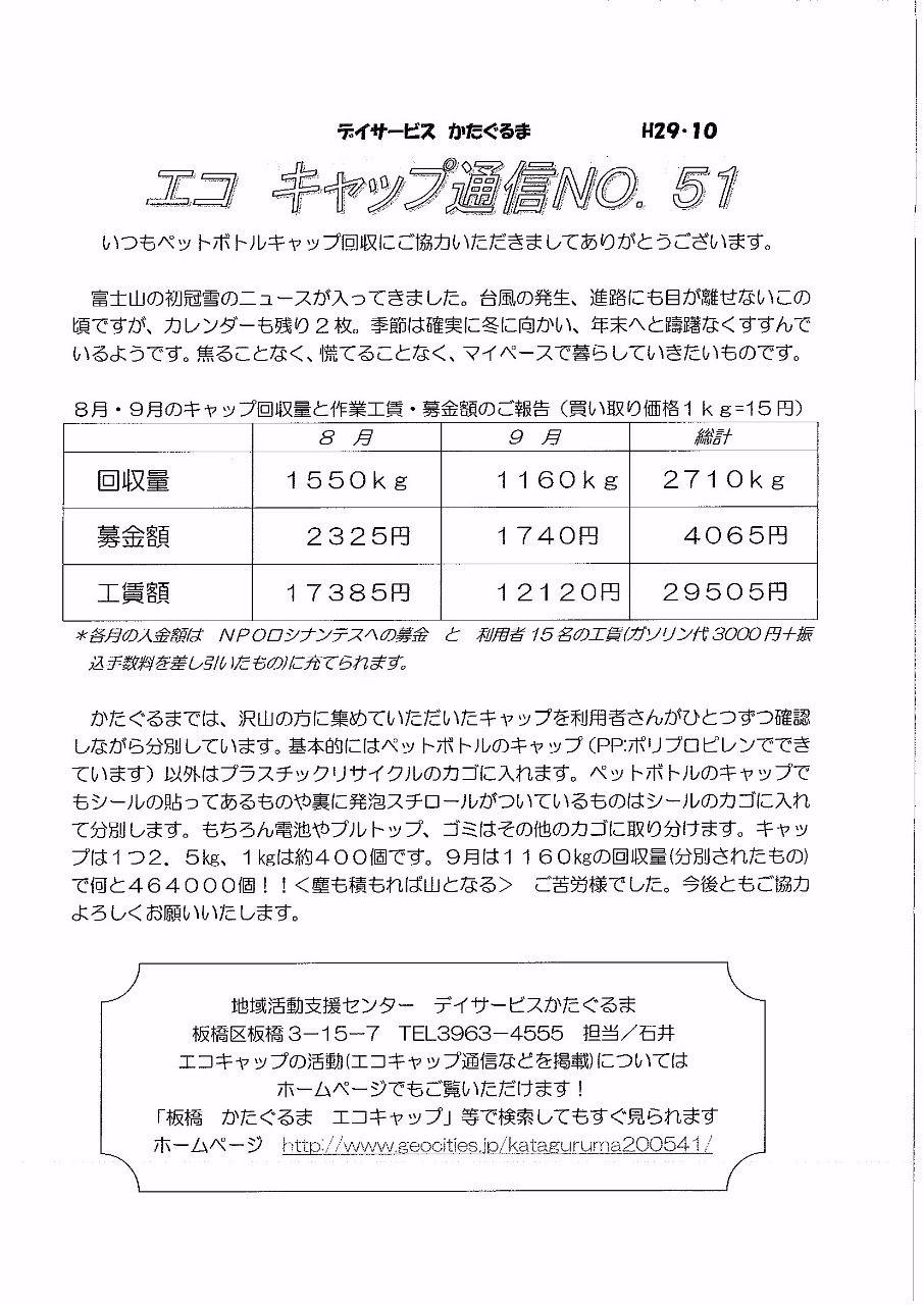 エコキャップ通信NO.51