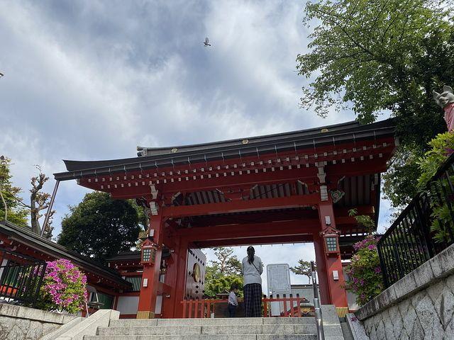 東伏見稲荷神社の神門(2020.5.1)