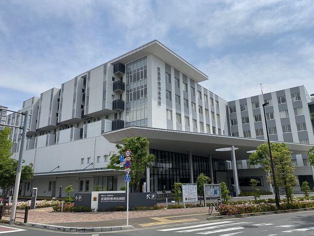 武蔵野徳洲会病院の外観写真(2020.5.3)