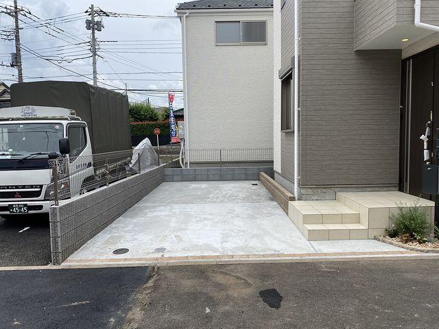 西東京市中町4丁目B号棟の駐車スペース(2020.5.31)スプラッシュ