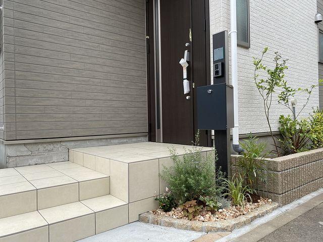 西東京市中町4丁目B号棟の玄関(2020.5.31)スプラッシュ