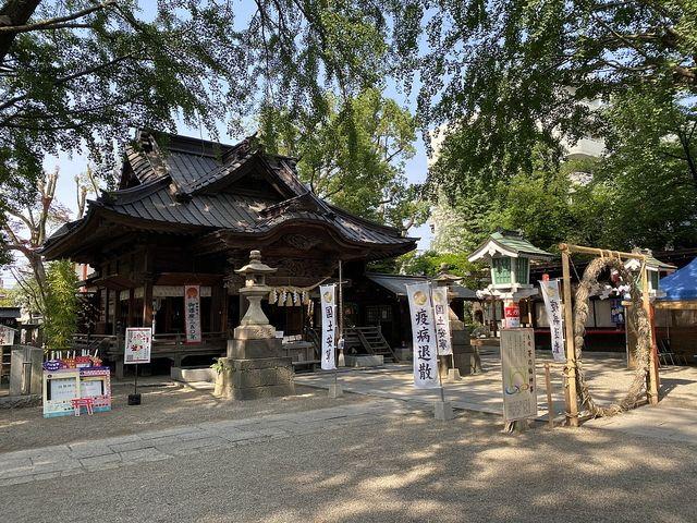 田無神社(2020.6.5)スプラッシュ2