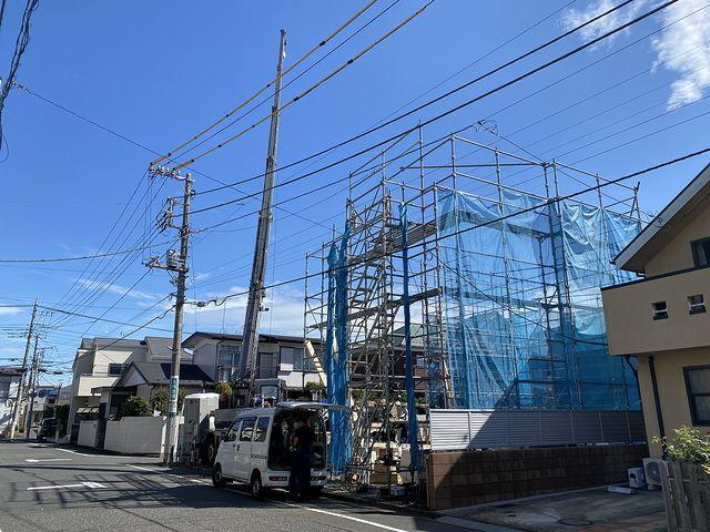 西東京市泉町6丁目の現場(2020.6.12)レッカー作業の様子