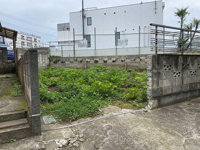 東伏見駅徒歩4分(西東京市東伏見2丁目)接道部分