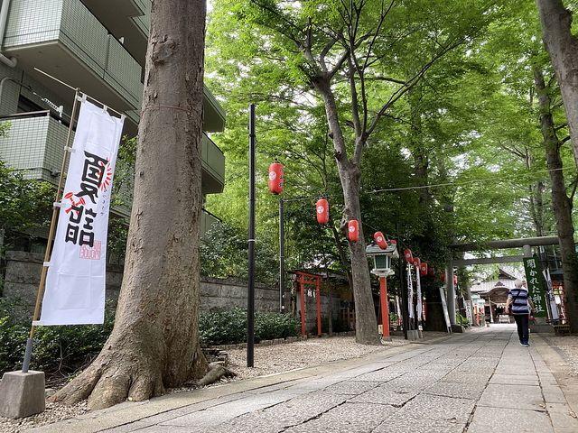 田無神社・参道(2020.7.16)
