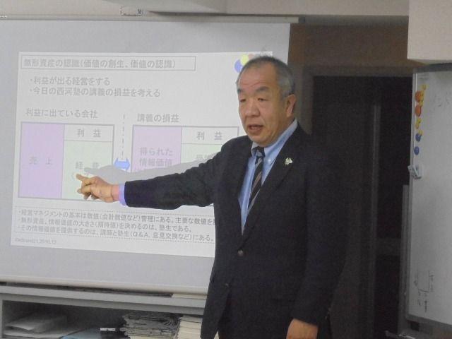 昨日、西河技術経営塾にて講義をしました!