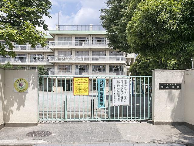 西東京市立栄小学校の外観 スプラッシュ
