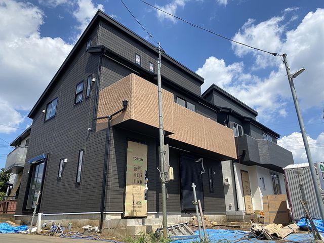 西東京市芝久保三丁目の建築中の新築一戸建て全2棟の外観(2020.8.30.・スプラッシュ)
