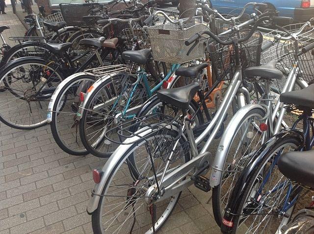 放置自転車の様子