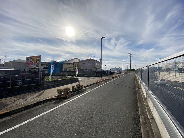 西東京市富士町6丁目の土地(2020.10.20)西側前面道路