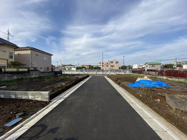 西東京市富士町6丁目の土地(2020.10.20)の南側前面道路