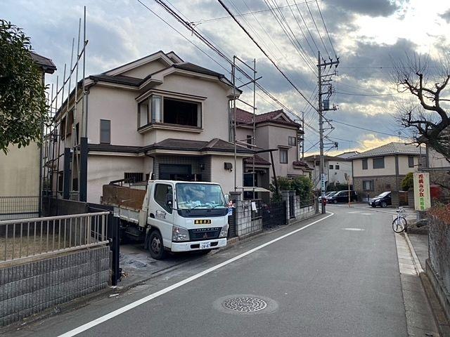 【管理物件】西東京市下保谷3丁目・売地の前面道路(1.8)スプラッシュ