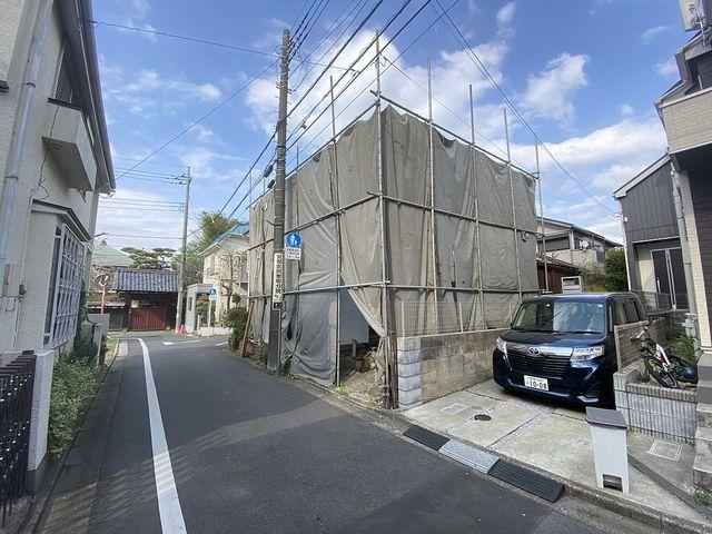 西東京市泉町2丁目の解体現場の様子(2021.4.2)スプラッシュ