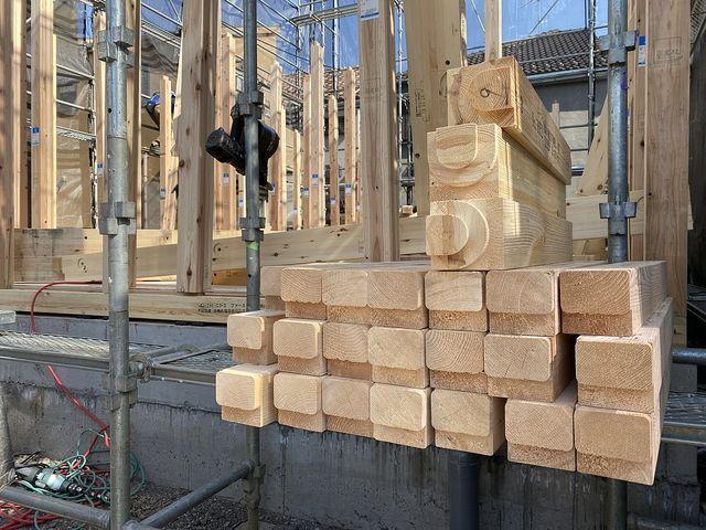 西東京市下保谷3丁目新築一戸建てプレカット材(2021.4.20)スプラッシュ