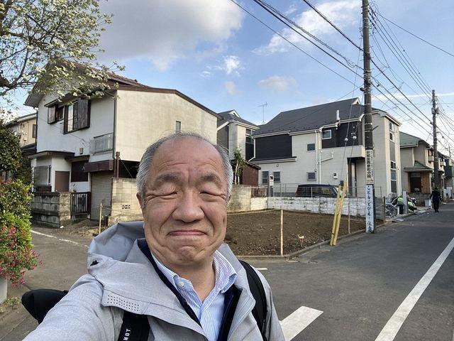 西東京市泉町2丁目の新築一戸建ての建設予定地(2021.3.30)スプラッシュ