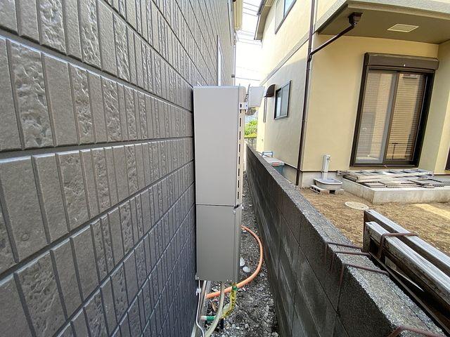 西東京市下保谷3丁目新築住宅の給湯器(2021.5.14)スプラッシュ