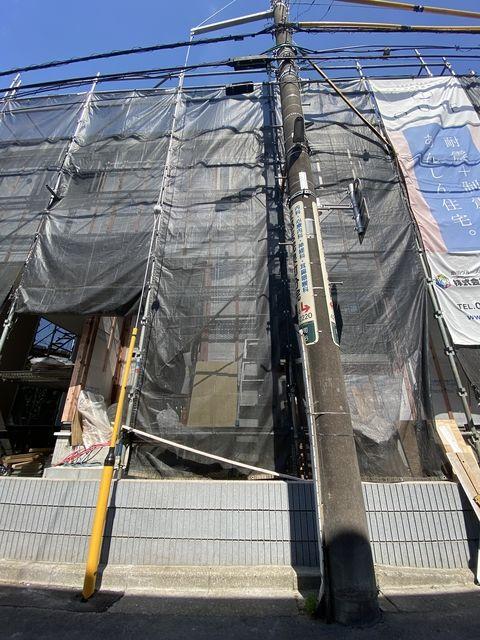 支線の移設が完了した西東京市泉町2丁目の現地・スプラッシュ