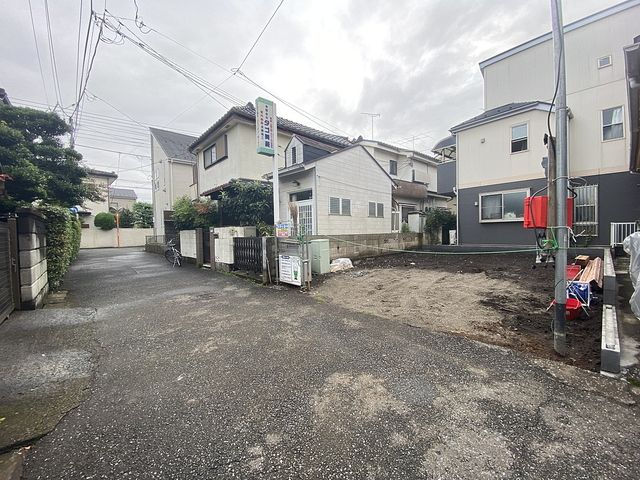 西東京市保谷町3丁目の現地(2021.9.9)スプラッシュ