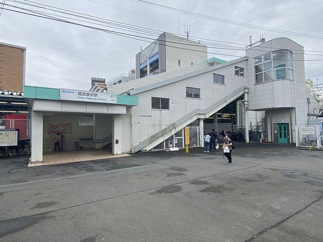 西武新宿線「西武柳沢」駅北口(2021.9.9)スプラッシュ