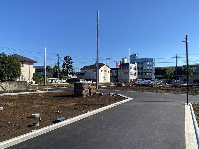 西東京市富士町3丁目全21区画の9月19日午後の現地の様子(2021.9.19)スプラッシュ