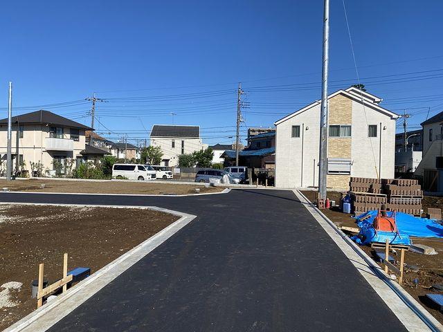 西東京市富士町3丁目全21区画の9月19日午後の現地の様子3(2021.9.19)スプラッシュ