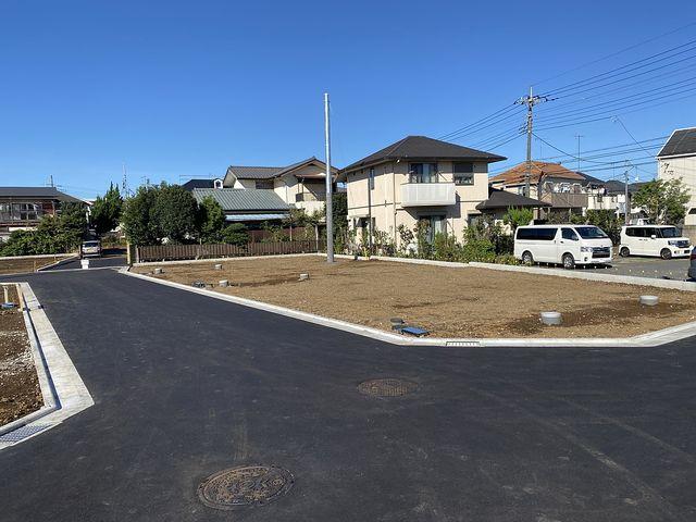 西東京市富士町3丁目全21区画の9月19日午後の現地の様子2(2021.9.19)スプラッシュ