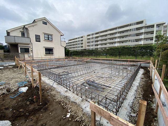 西東京市富士町1丁目新築一戸建て3号棟の配筋の様子(2021.9.12)鈴木義晴