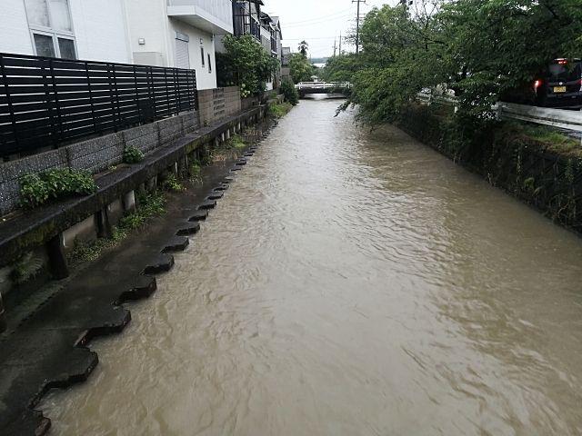 白子川の水位がリアルタイムで確認できます