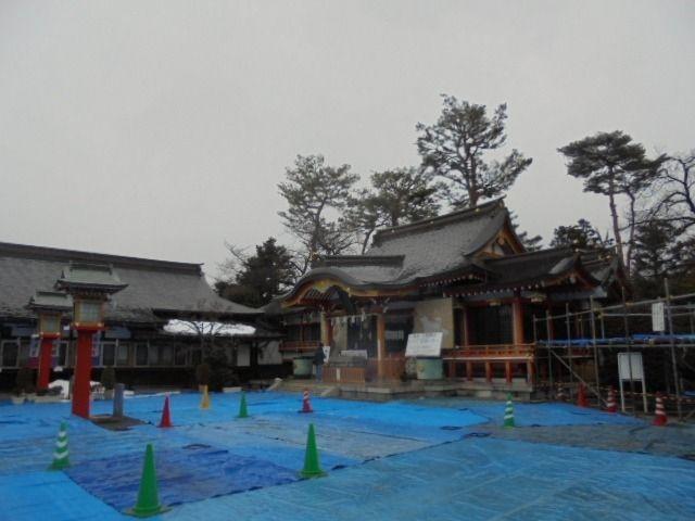 2月1日(木)お昼過ぎの東伏見稲荷神社の様子です