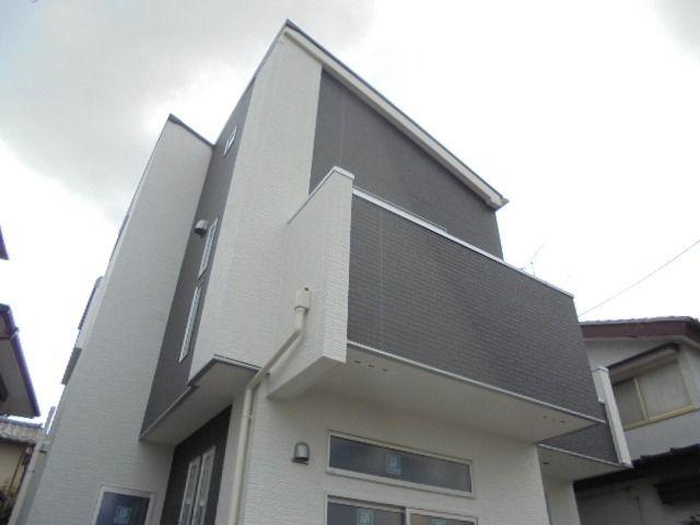 2月11日西東京市富士町3丁目の新築分譲住宅の外観