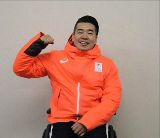 パラアイスホッケーに出場する高橋選手