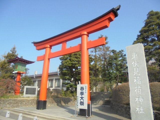 今朝、東伏見稲荷神社に恒例の朔日参りに行ってきました。