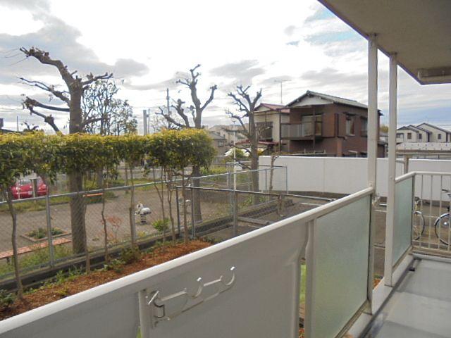 保谷駅徒歩11分M保谷ハウス130号室のバルコニーからの眺望です