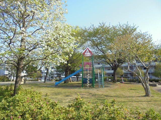 関町風の道公園の様子