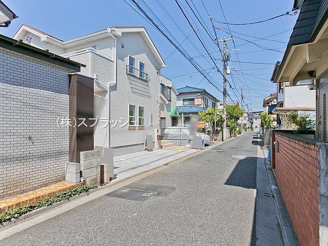 西東京市田無町7丁目新築分譲住宅・東側公道の様子