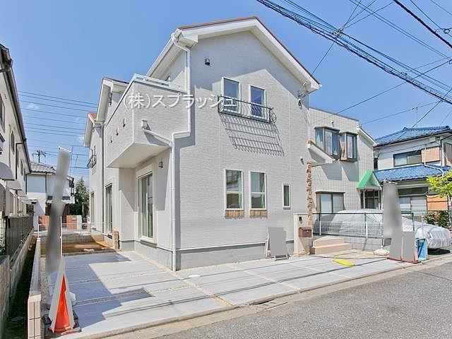 西東京市田無町7丁目新築分譲住宅2号棟外観