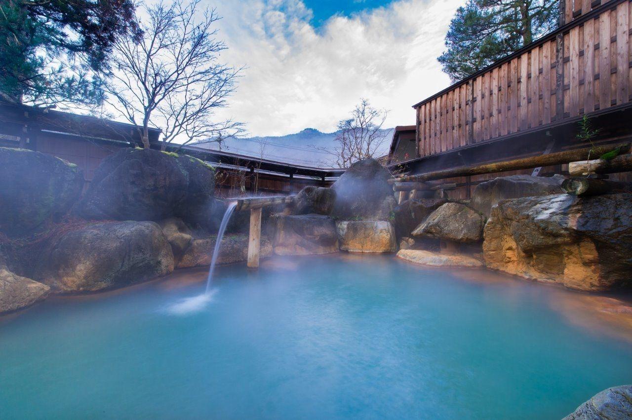 西東京市内の公衆浴場ではよもぎの湯に入れます
