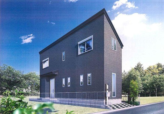 中野区上鷺宮3丁目新築分譲住宅 ・完成予想パース