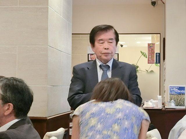 小平和一朗先生です