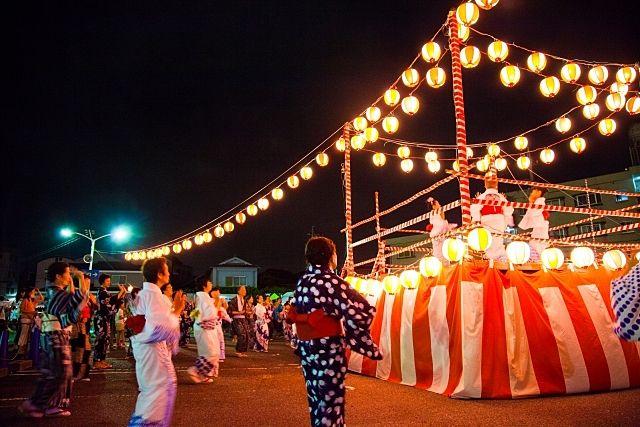 谷戸商店街協同組合の納涼盆踊り大会