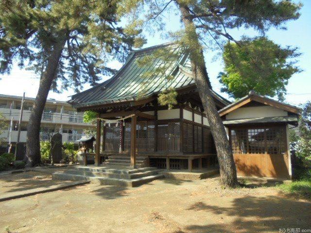柳沢氷川神社の創建年代は不詳ですが、上保谷村の小名平松を開拓した際に村民が勧請したものと推定されます。